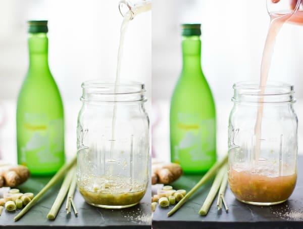 bottle of sake