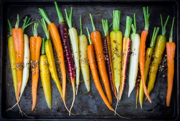 carrots pre roasting
