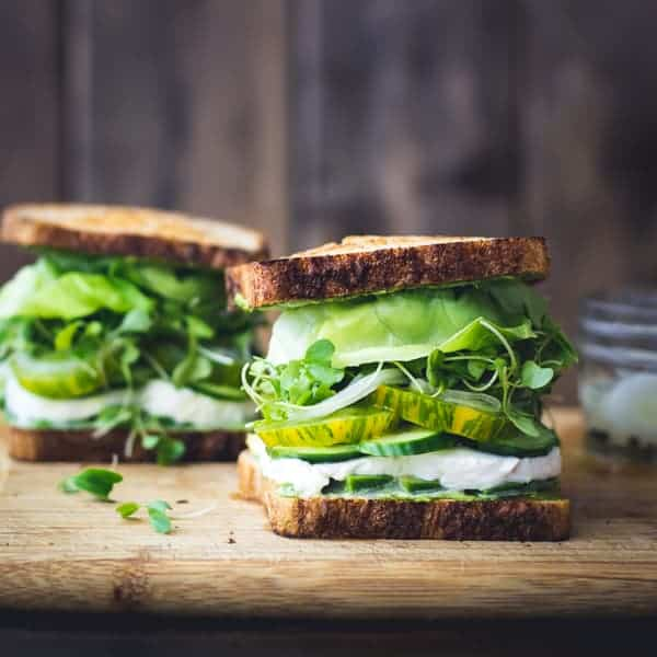 Green Goddess Sandwiches • The Bojon Gourmet
