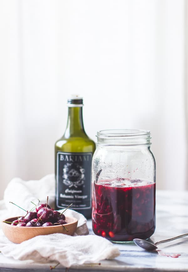 jar of cherries