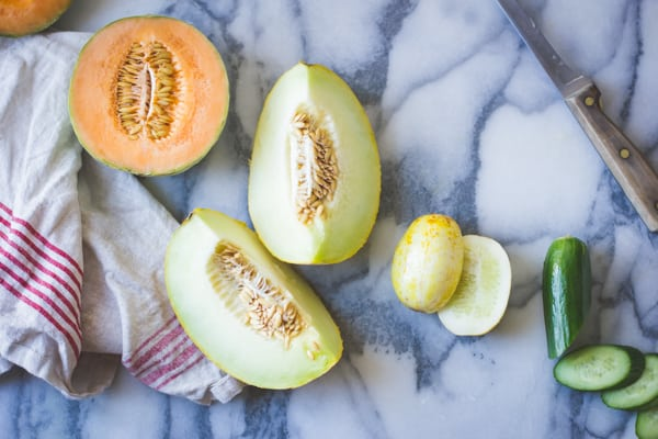 melon quarters