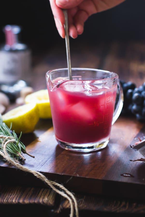 cocktail stirred