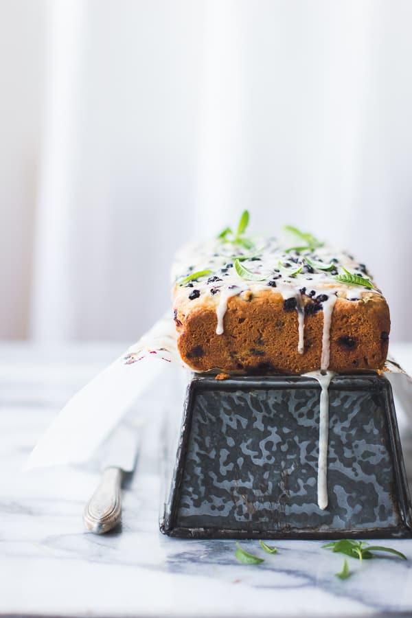 Lemon Verbena Tea Cake