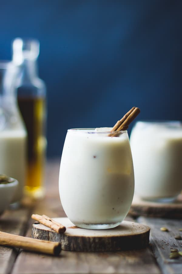 Vegan Horchata Recipe with Pumpkin Seeds, Maple, and Ginger