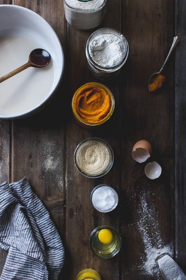 jars of ingredients on table