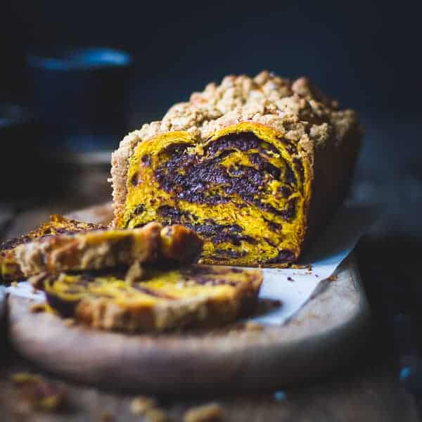 delicious Pumpkin, Rye + Chocolate Babka