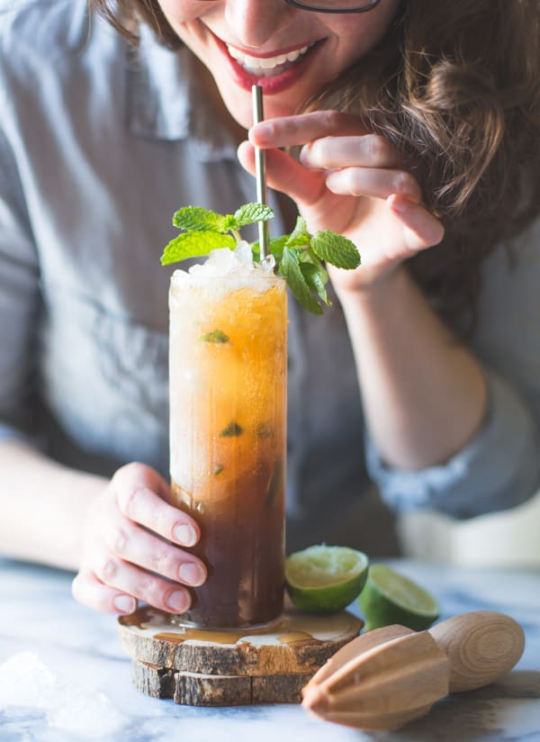 sipping Muscovado Mint Julep