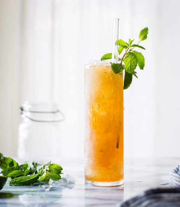 refreshing Muscovado Mint Julep