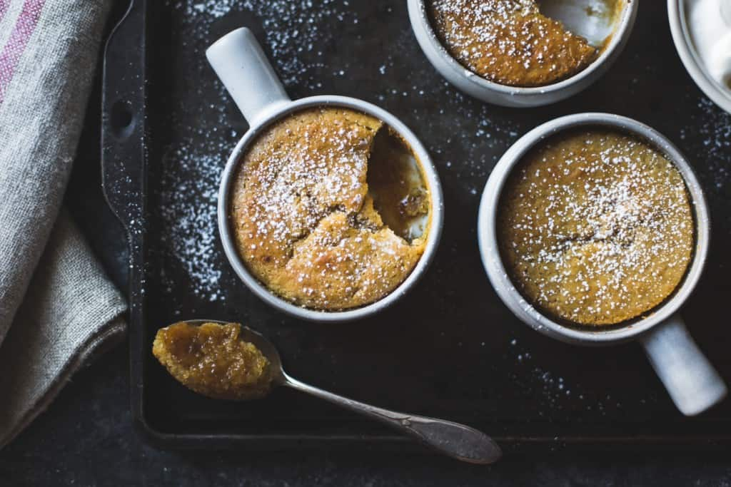 Maple Chestnut Pudding Chomeurs {gluten-free}