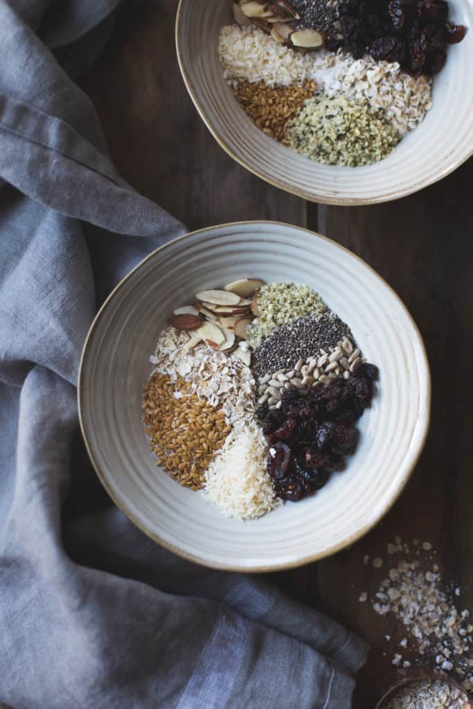 Super Seeded Oatmeal {vegan, gluten-free}