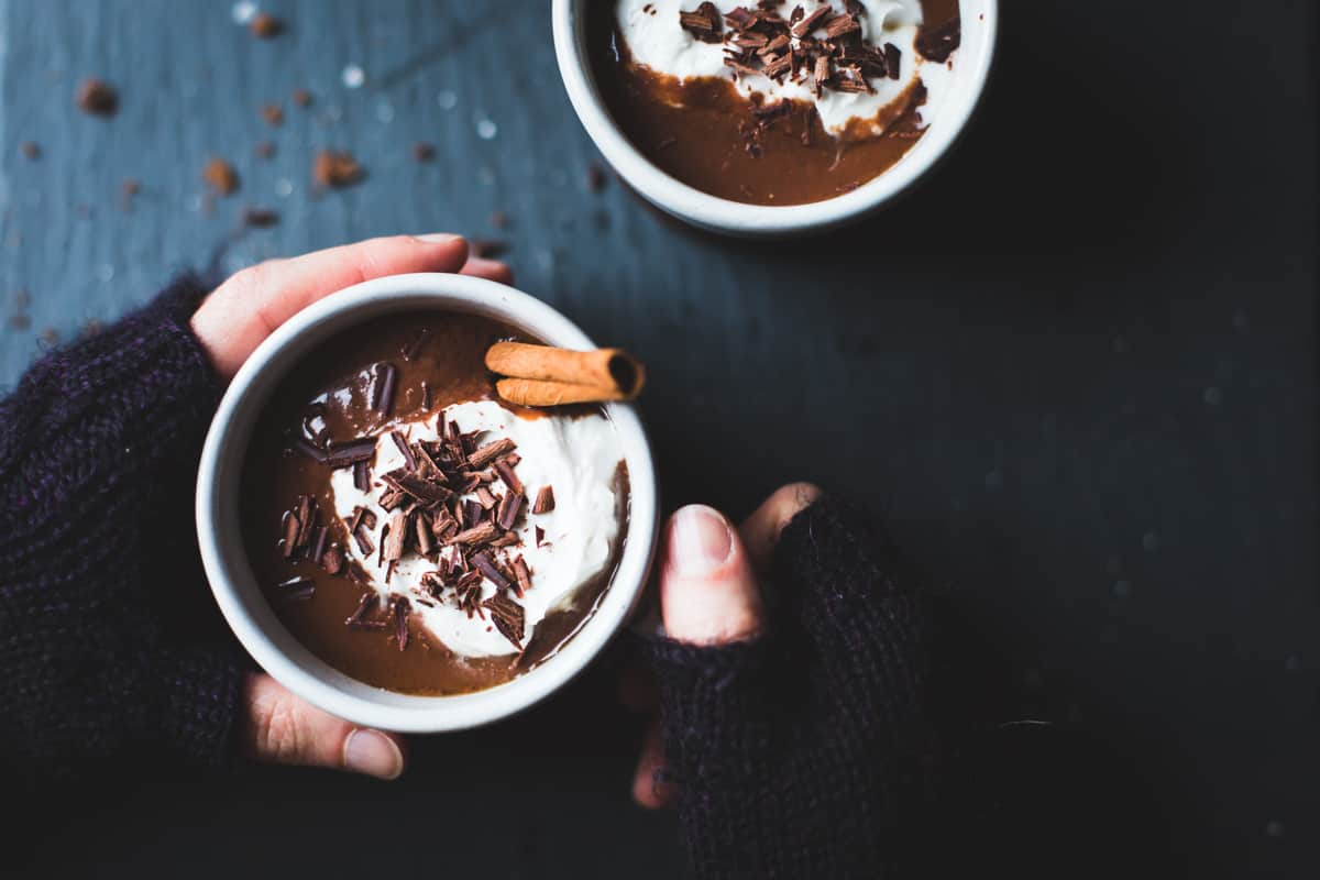 Vegan Champurrado {Mexican Hot Chocolate Atole}