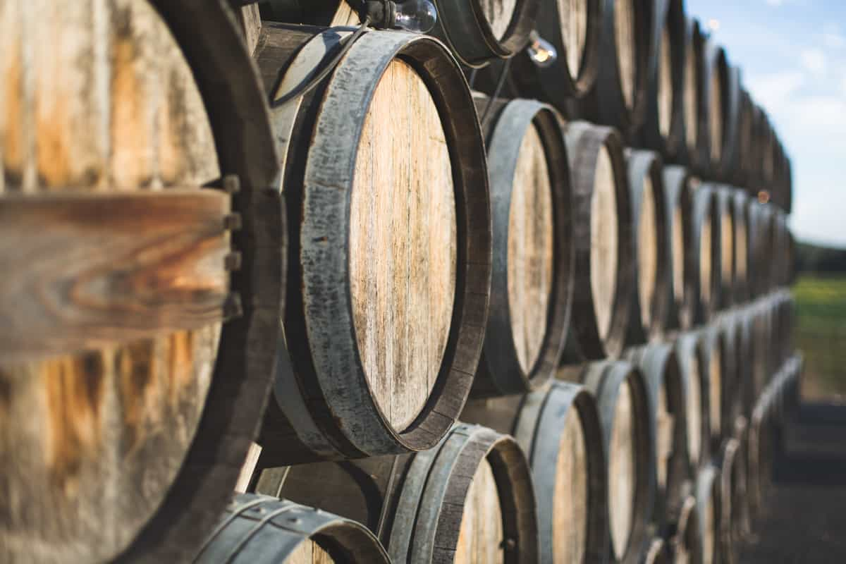 Sonoma County barrels