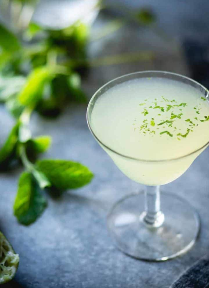 Verdant Lady {Chartreuse, Gin & Mint Cocktail}
