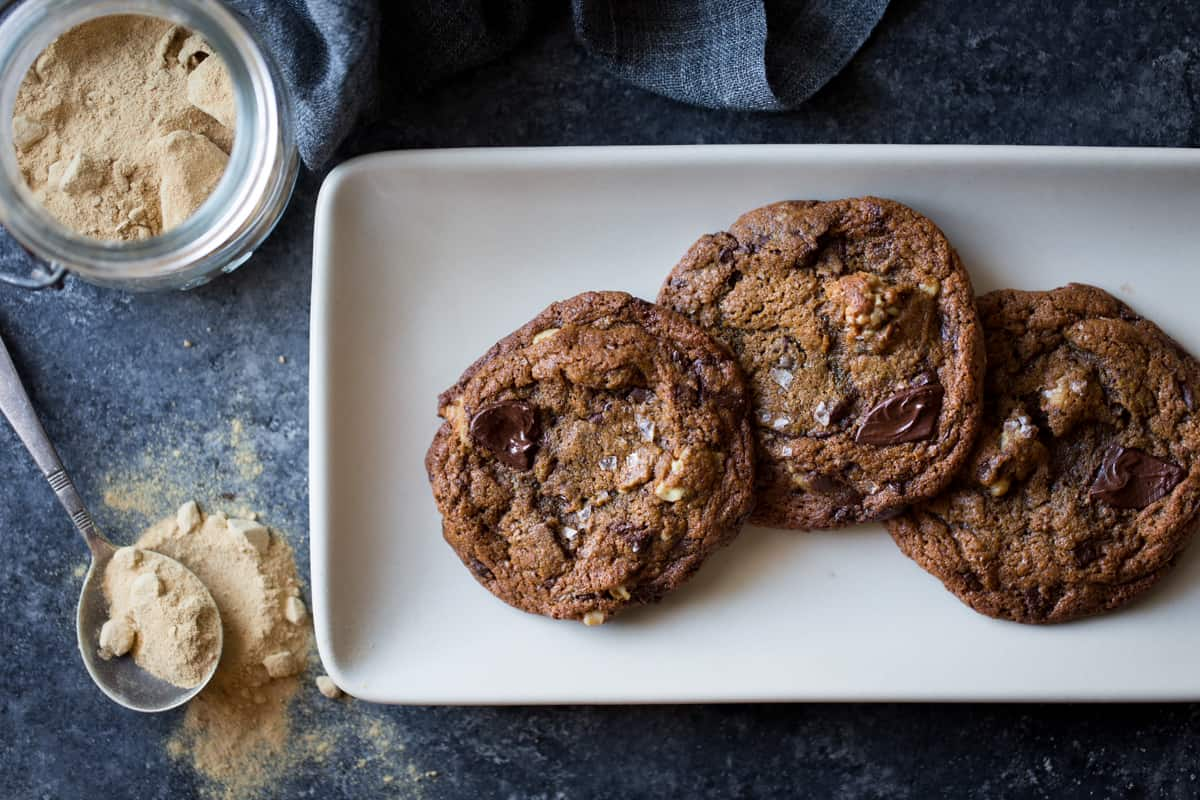 3 Gluten-Free Chocolate Chip Cookies