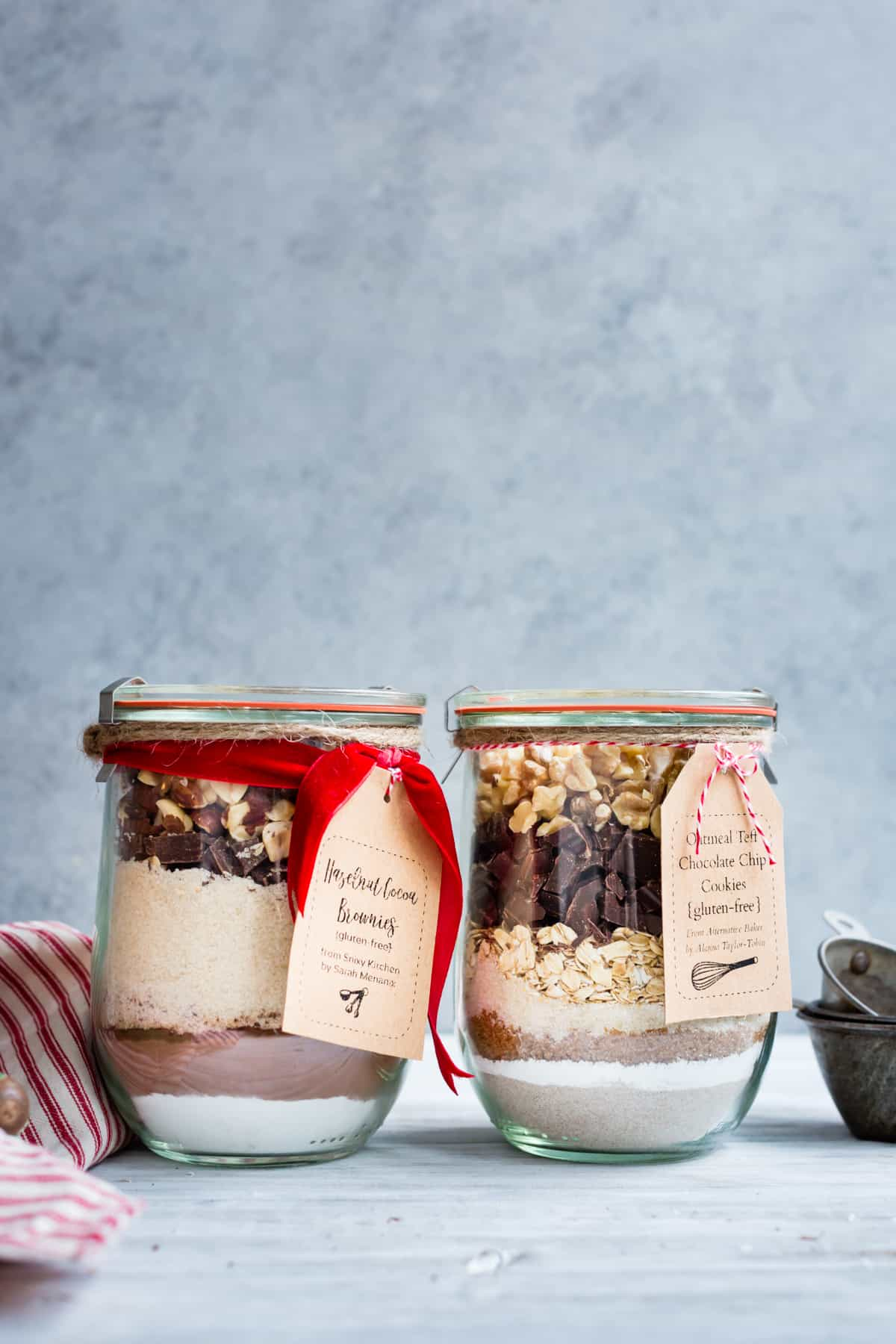 beautiful Cookie Mix Gift in Jars