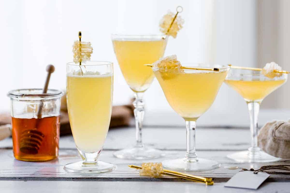 Chamomile Honeycomb Gimlets + A Visit to the Hangar 1 Distillery