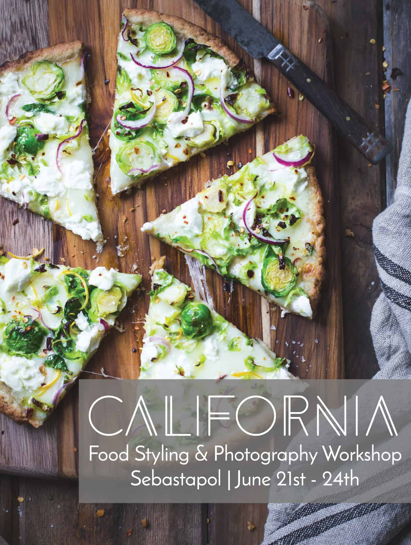 California Food Photography Workshop