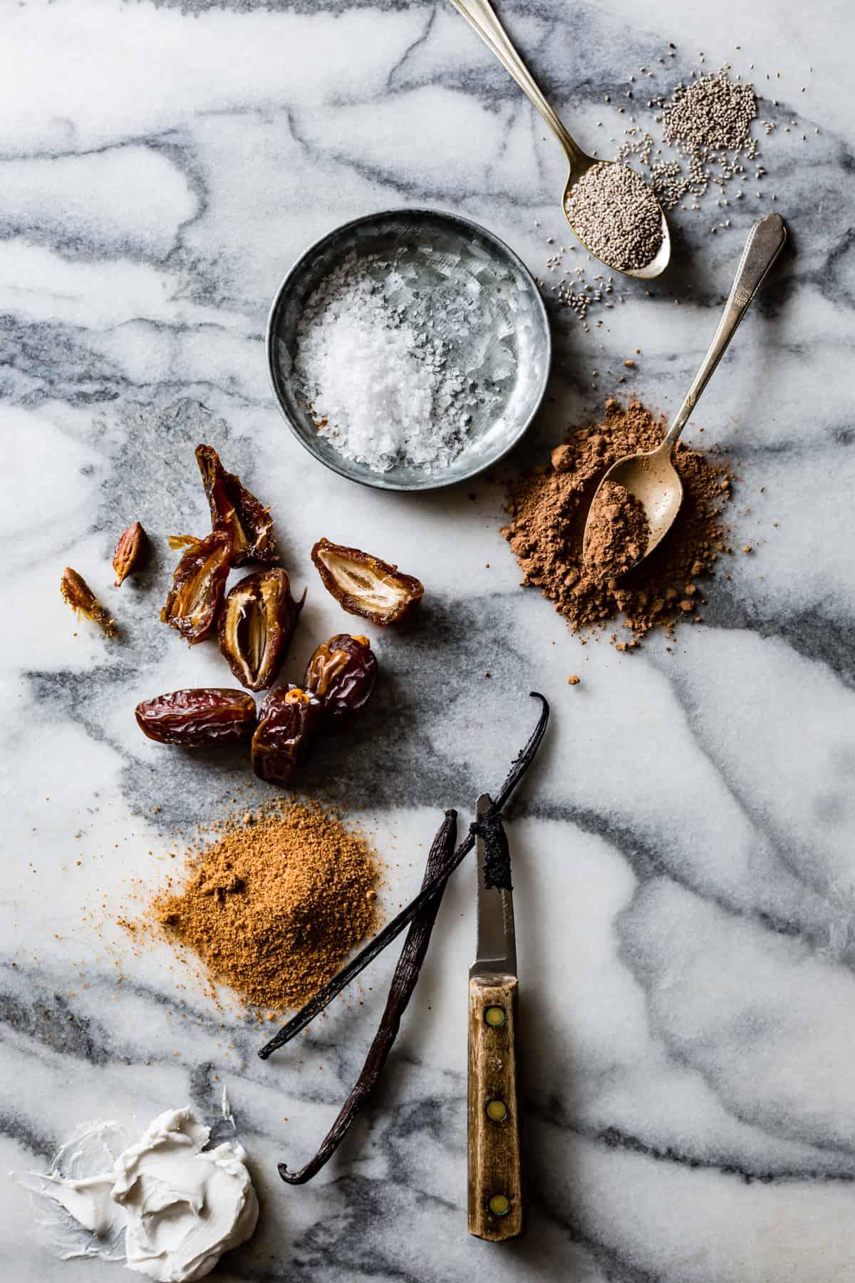Vegan Salted Caramel & Chocolate Swirl Popsicles
