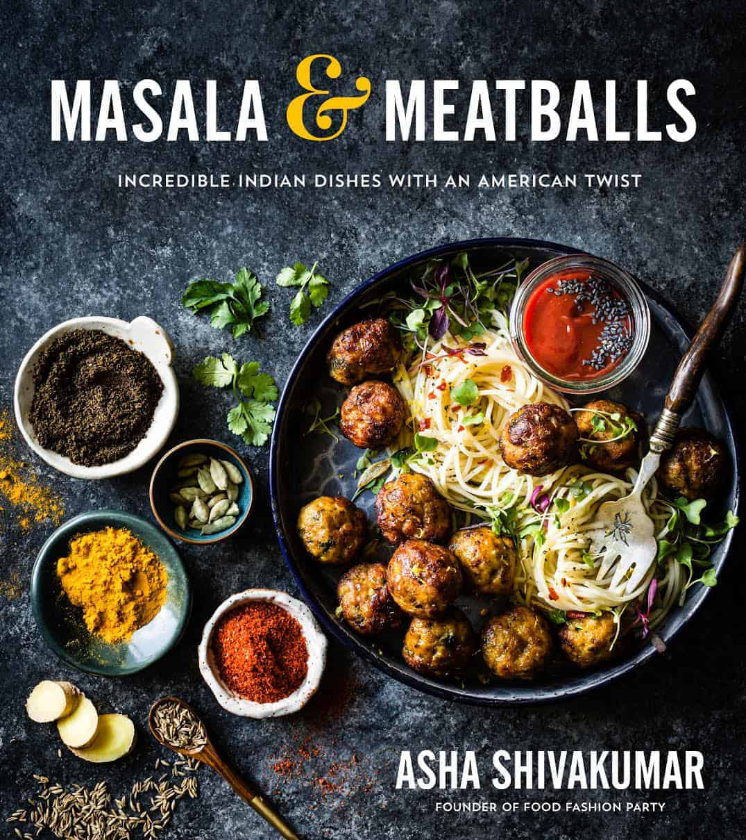 Masala & Meatballs cookbook cover