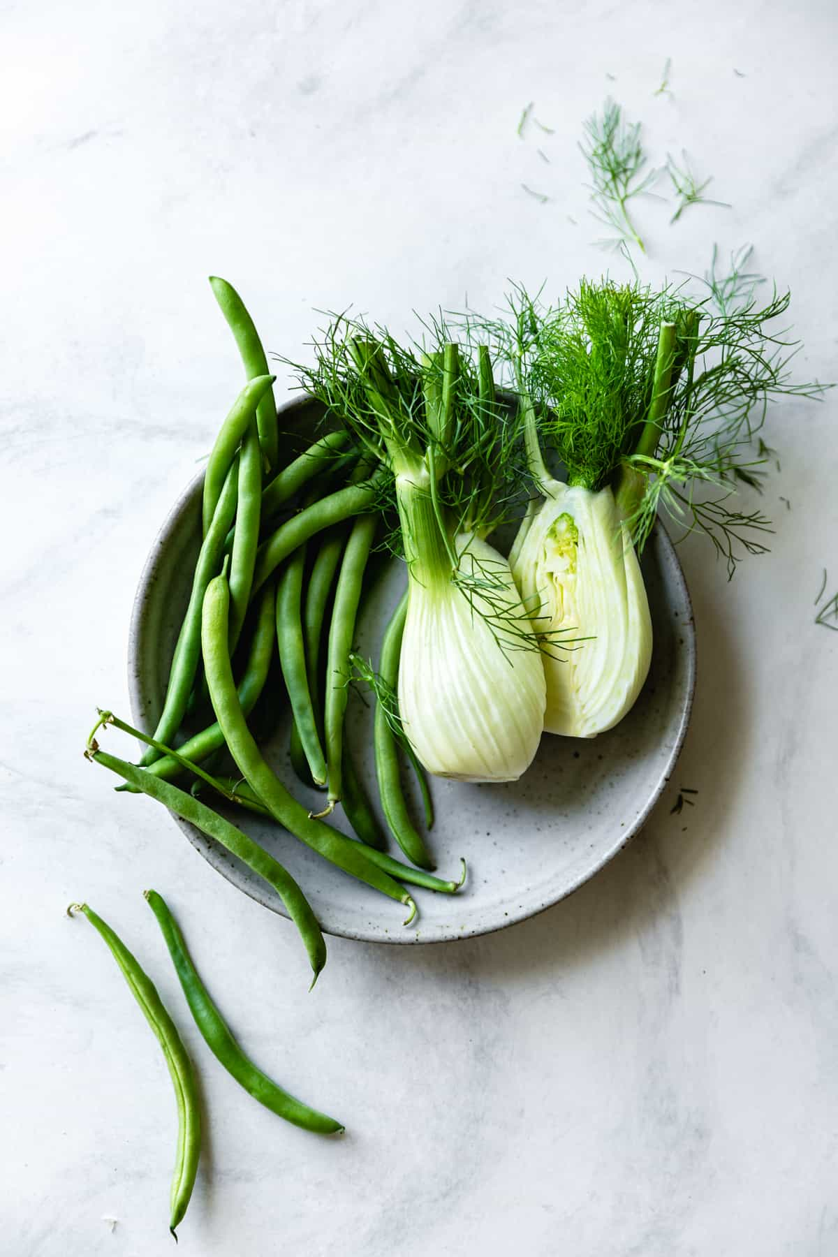 fennel and beans