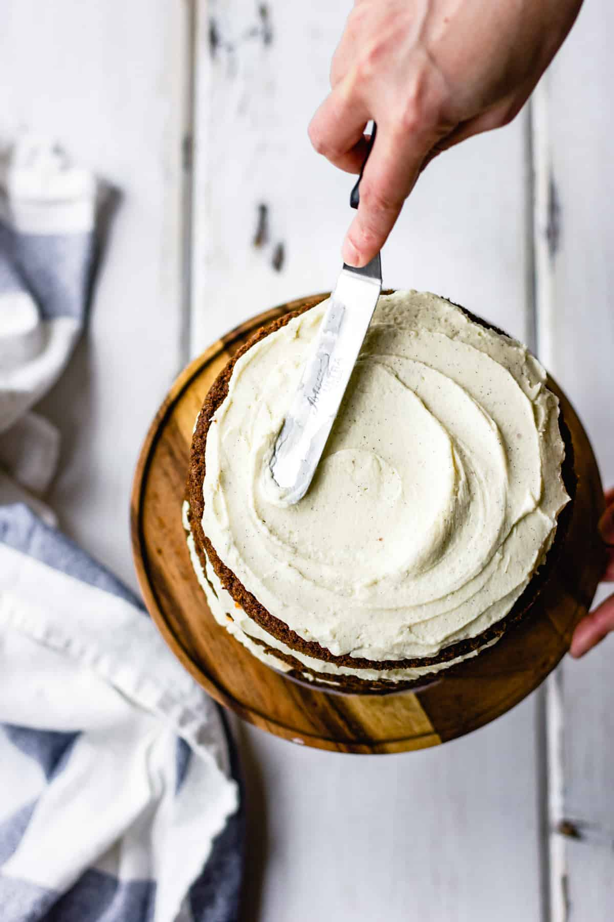 Whiskey Cream Cheese Frosting