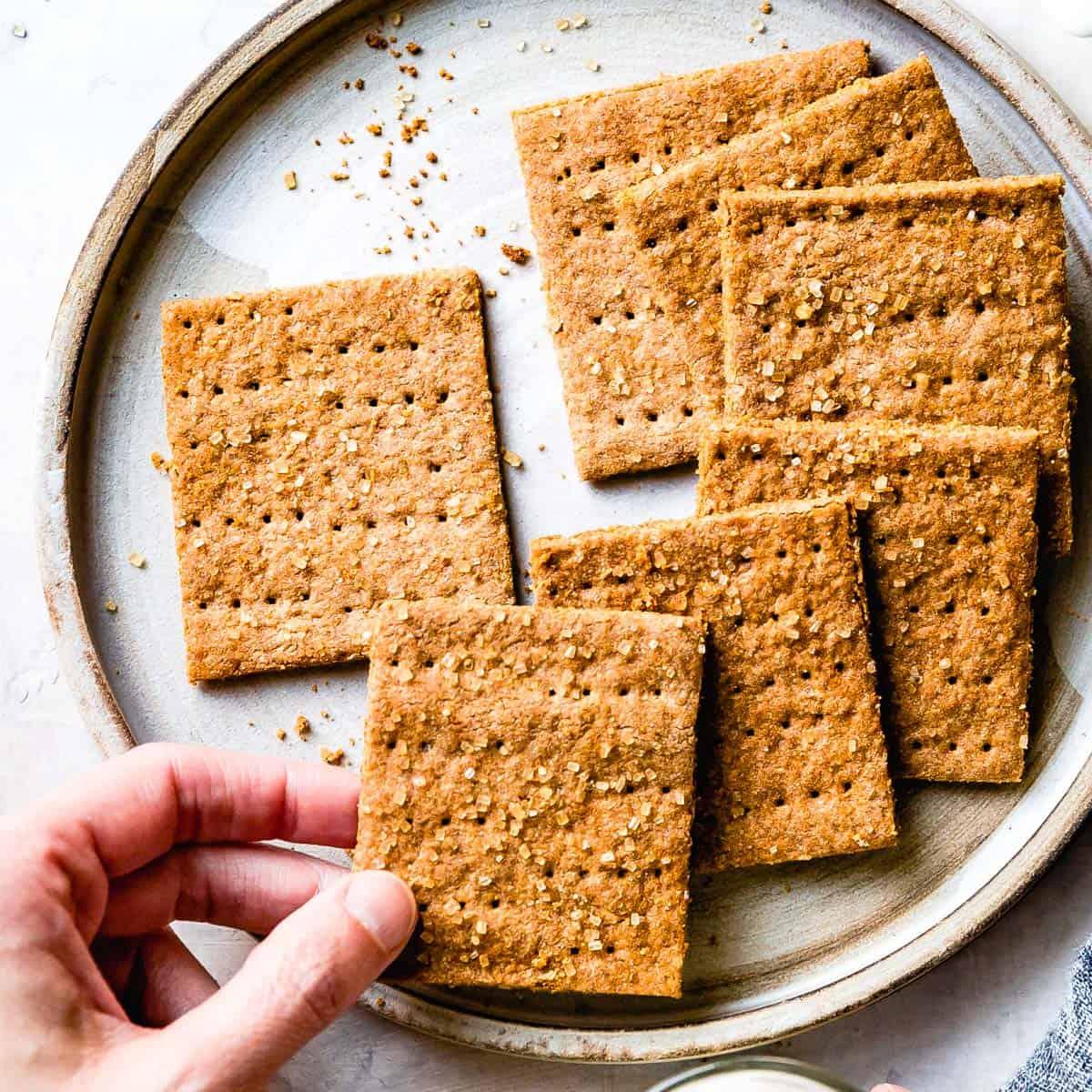 gluten free graham crackers recipe