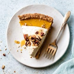 Gluten Free Pumpkin Cream Pie