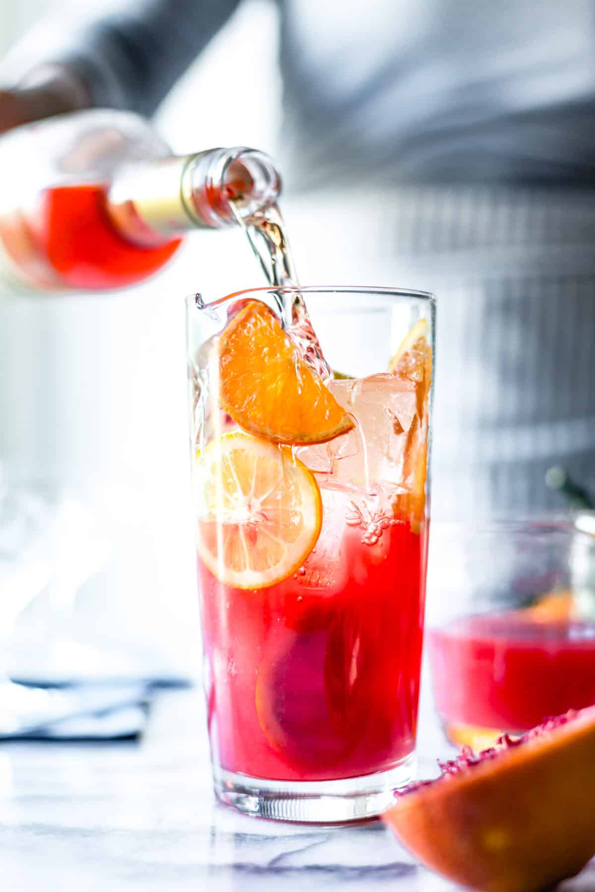 Citrus Punch with Lillet and Prosecco