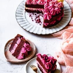 Gluten Free Red Velvet Cake without Food Coloring