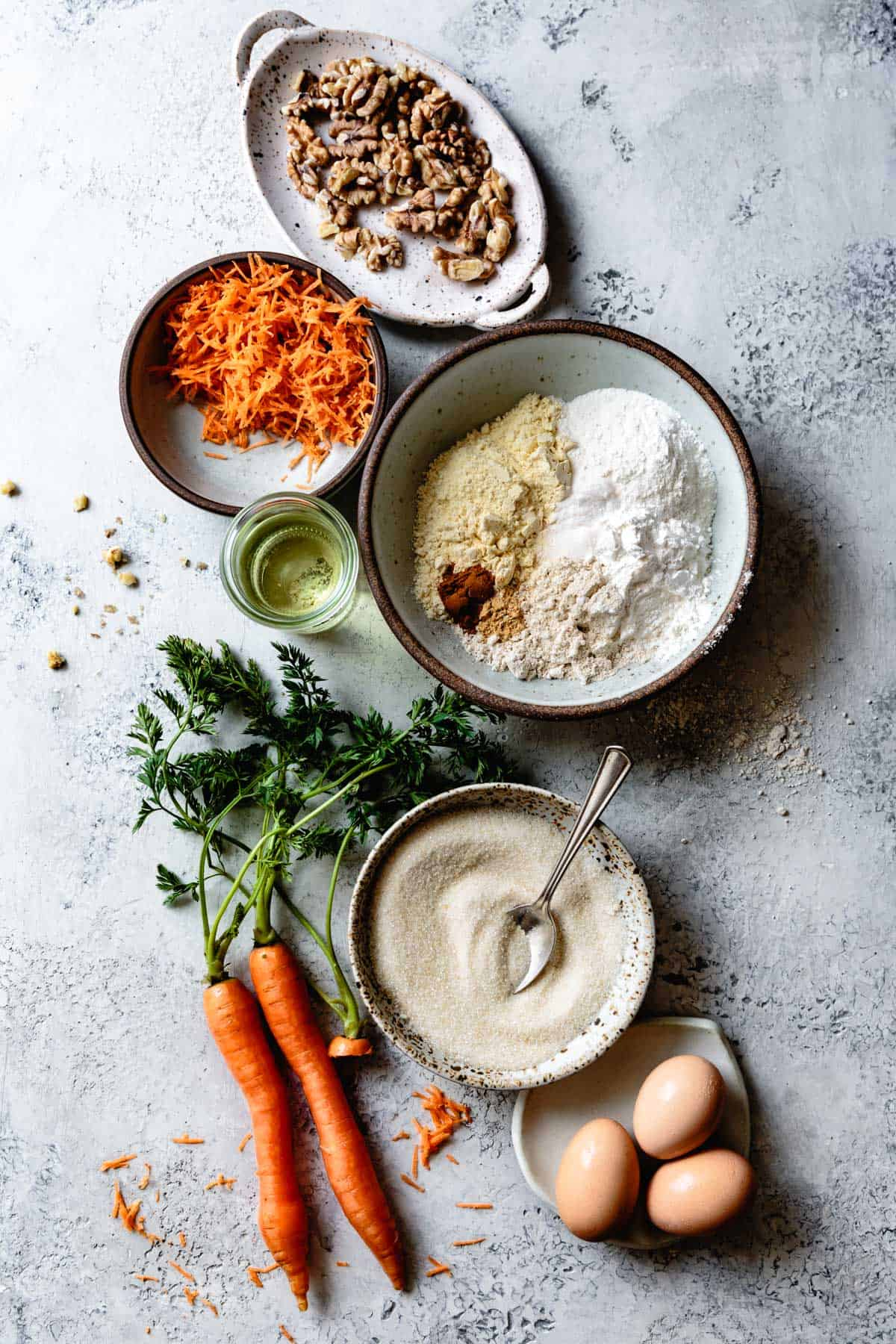 Dairy Free Gluten Free Carrot Cake