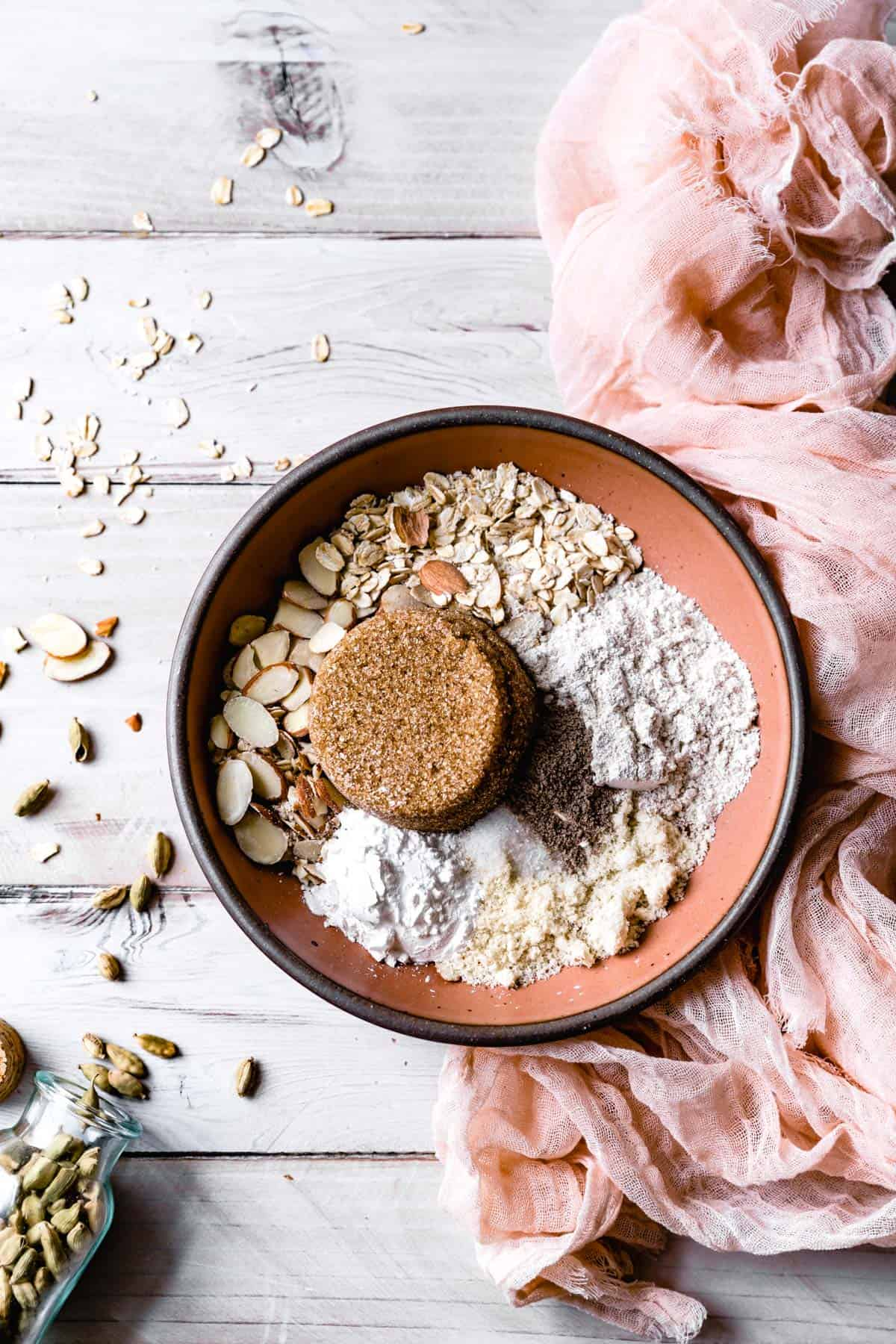 Gluten Free Crisp Topping dry Ingredients