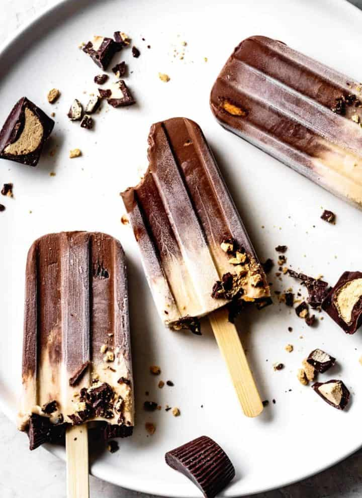 Vegan Peanut Butter Fudgesicles Recipe