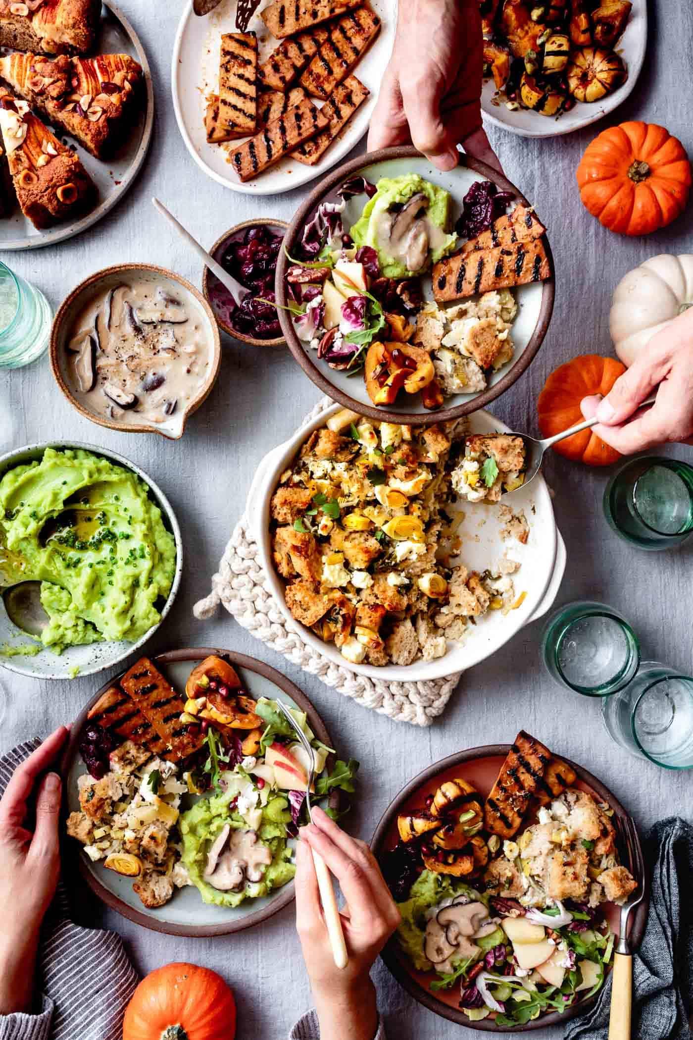 Serving a Gluten-Free Vegetarian Thanksgiving Meal