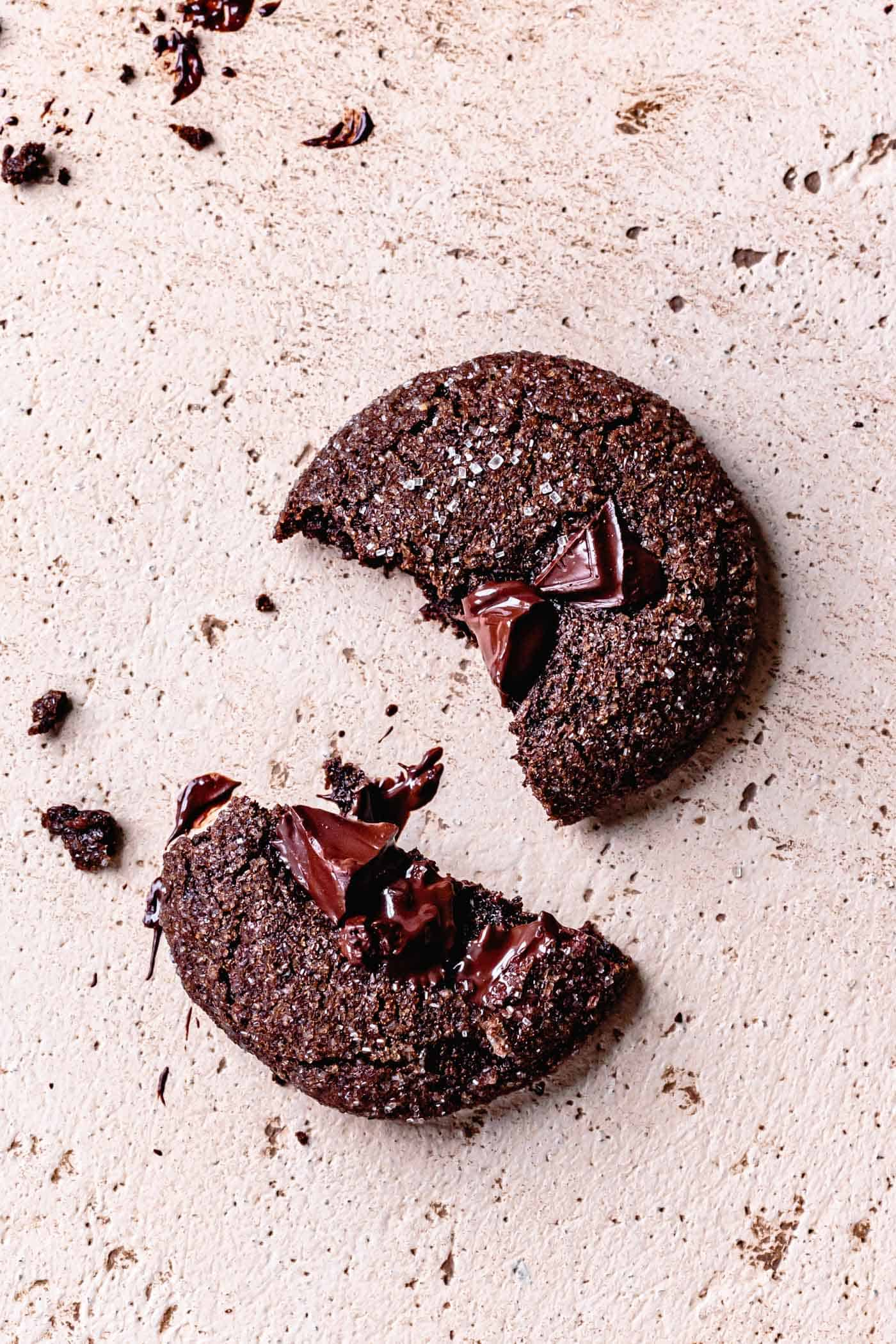 Broken Gluten-Free Chocolate Ginger Cookie