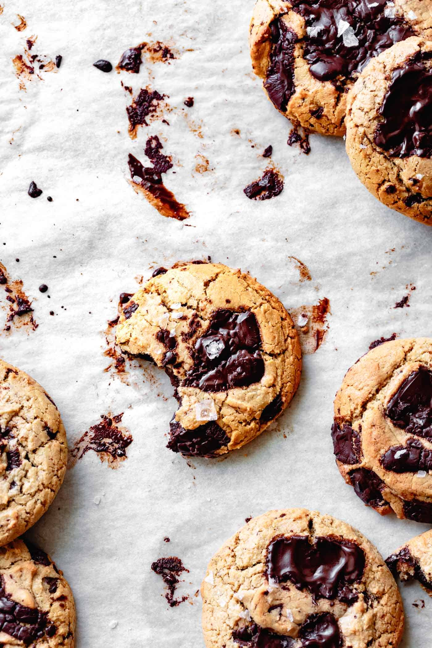 gluten-free dairy-free chocolate chip cookie recipe, freshly baked