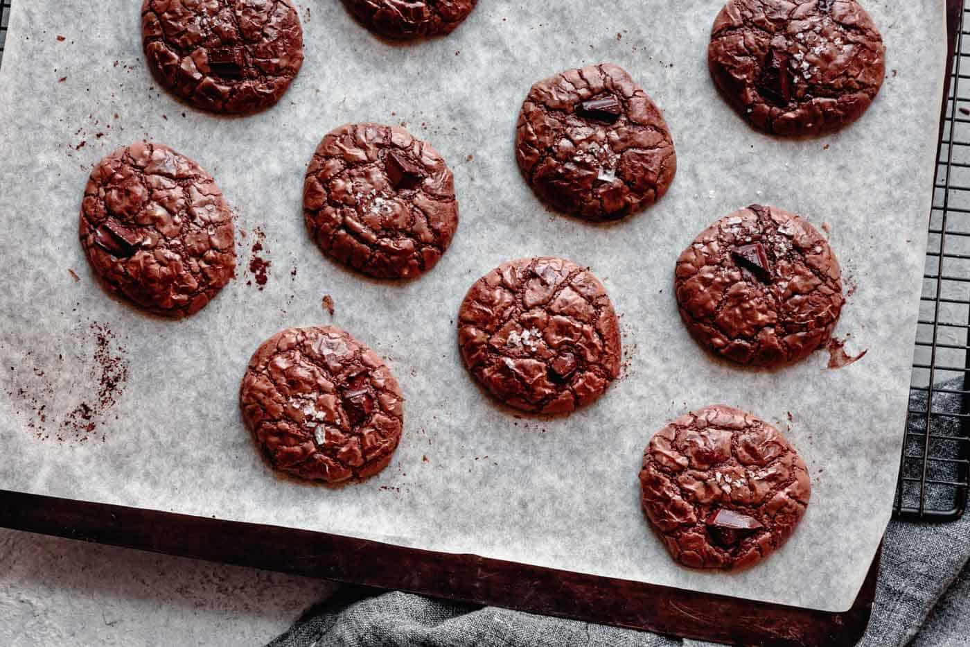 chocolate cookies for choc on choc cheeseboard