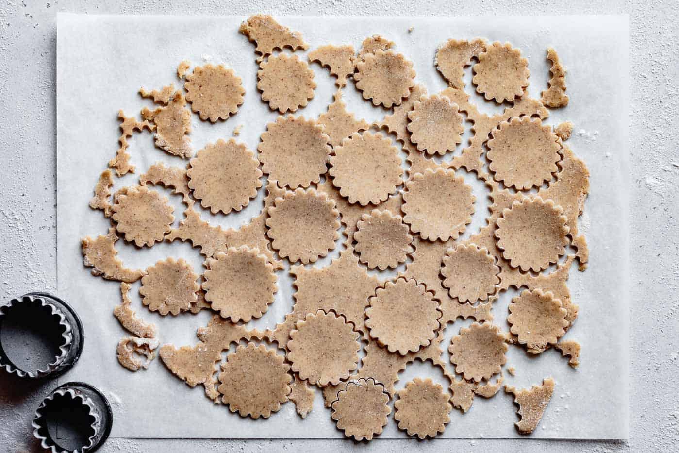 dough rounds for almond flour double pie crust