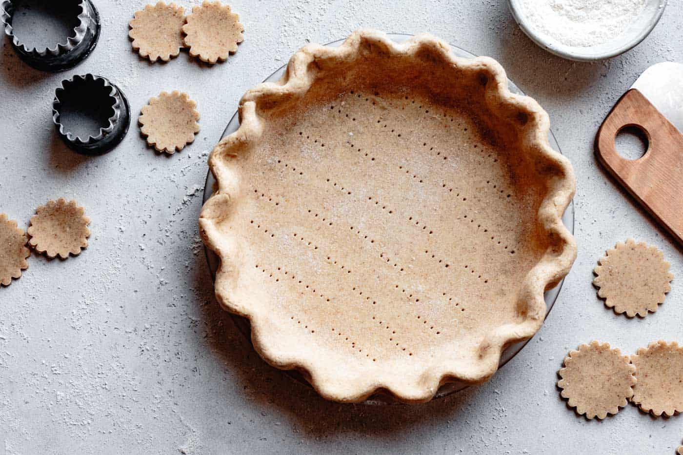 unbaked paleo pie crust recipe
