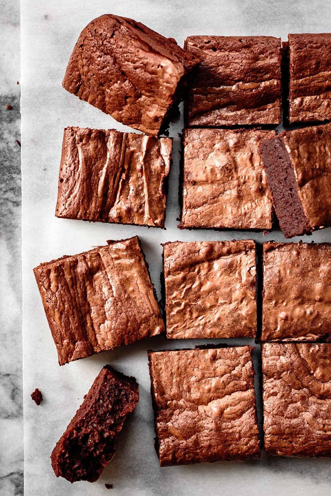 gluten-free treats: gf brownies