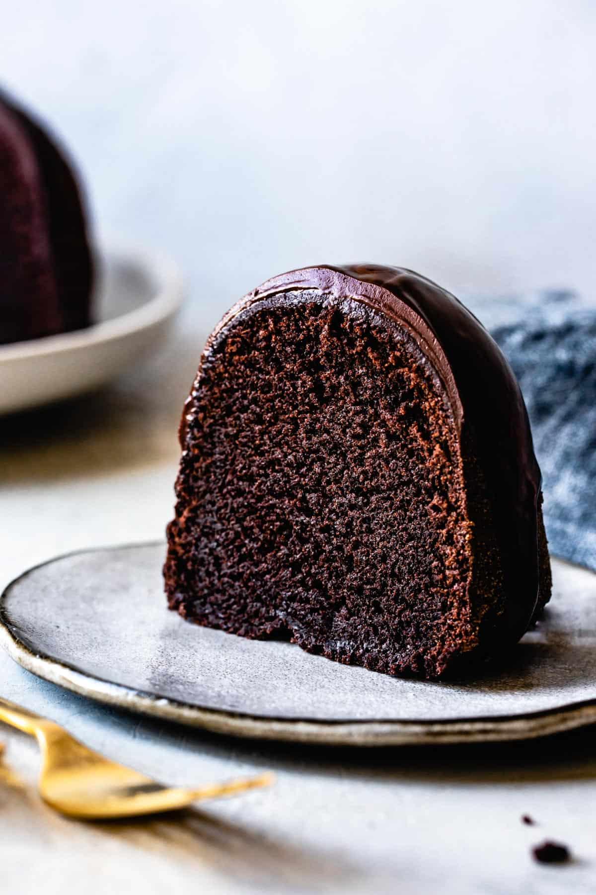 gluten-free cake recipe: chocolate bundt cake