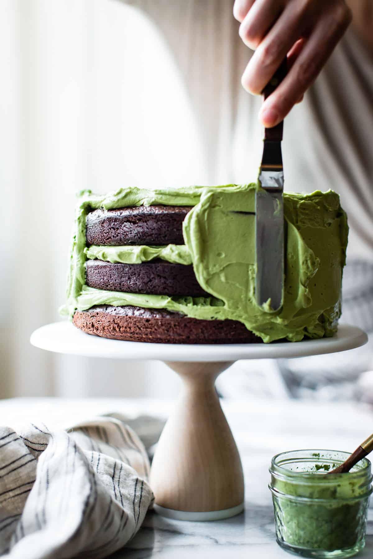 gluten-free cake recipe: chocolate zucchini cake